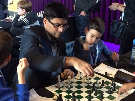 Ethan Gardiner Reviews Games With Vishy Anand