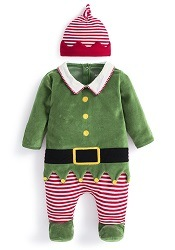 JJMB - Baby Elf Set with Hat