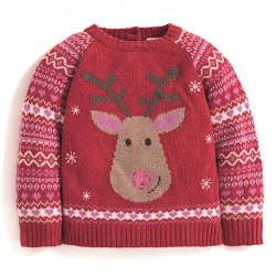 JJMB - Pretty Reindeer Jumper