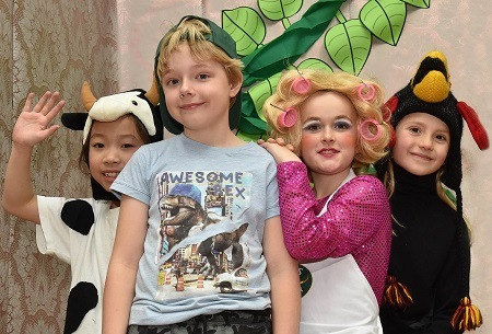 Jack and the Beanstalk | King's School in Macclesfield panto