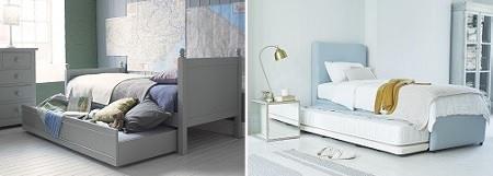 Guest bed inchildren's room