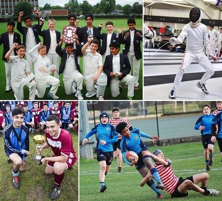 Manchester Grammar School sports success in 2017